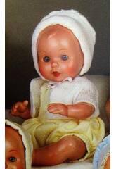 Mini Juanin Bebé Fatinho Amarelo e Jaqueta Branca