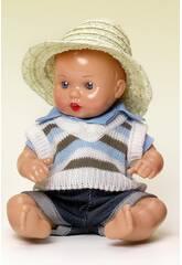 Mini Juanin Bébé Ensemble Jeans et Veste à rayures