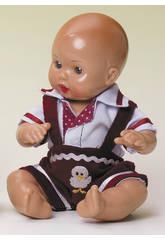 Mini Juanin Baby Trägerhose Granat