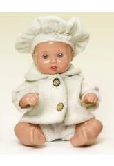 Mini Juanin Babymantel und Beige Beret