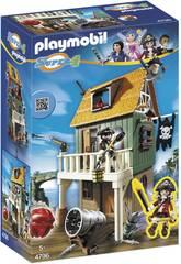 Playmobil Super 4 Fuerte Pirata Camuflado Ruby