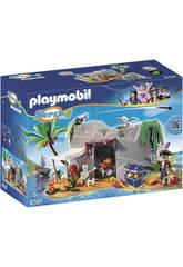 Playmobil Super 4: il Covo dei Pirati