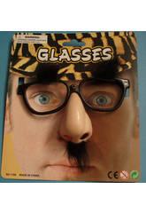 Gafas con nariz y cejas