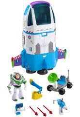 Toy Story 4 Buzz Lightyear Nave di Ordine Stellare Mattel GJB37