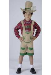 Disfraz Chico de los Alpes Niño Talla M