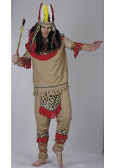Déguisement Indien Homme Léopard Taille XL