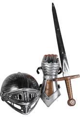Set Caballero con Espada, Casco y Manopla