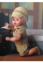 Juanin Pérez Bebé Conjunto Safári com Chapéu