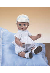 Juanin Pérez Bebè Completo Bianco e Blu con Berretto