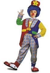 Disfraz Niño M Payaso Abrigo