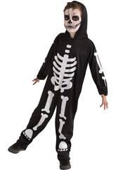 Disfarce Skeleto Glow in Dark Tamanho S Rubies S8318-S