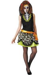 Disfraz Adulto de Katrina Día de los Muertos Rubies S8335
