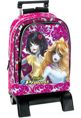 Day Pack con Carro Princesas Zombie