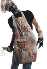 Delantal Carnicero Zombie Rubies 3699