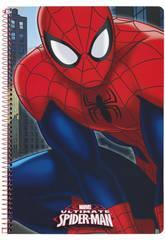 Quaderno Copertina rigida 80 fogli Spiderman