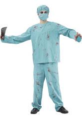 Déguisement Chirurgien Sanglant Homme XL