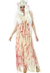 Disfraz Novia Muerta Sangre Mujer Talla XL