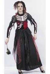 Kostüm Skelettbraut Frau Größe XL