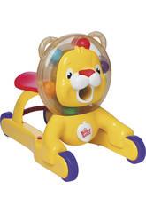 Lion Trotteur Lance Boules