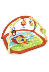 Bright Starts- 2-In-1 Silly Sunburst Activity Gym & Saucer, Multicolore