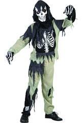 Disfraz Niños M Esqueleto Zombi