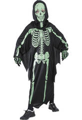 Disfraz Esqueleto 3D Niño Talla M