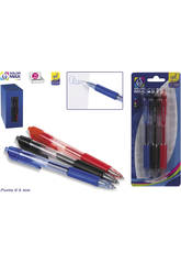 Blister 3 Stylos Gel Colormax