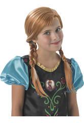 Peluca Frozen Anna Rubies 36172