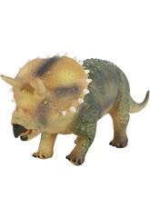 Figura Dinosaurio Triceratops 52cm