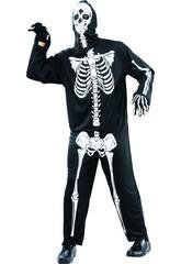 Disfraz Esqueleto de Hombre Talla L