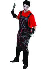 Déguisement Cuisinier Sanglant Chemise homme L