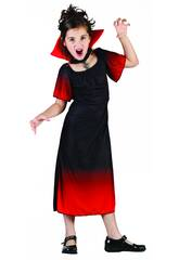Disfraz Condesa Vampira Niña Talla L
