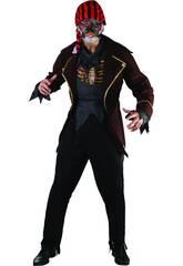 Kostüm Pirate Zombie Mann Größe L