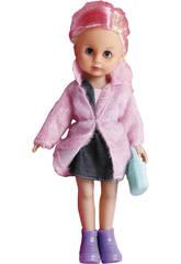 Poupée 35 cm. Minigirl Voyage