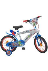 Bicicleta Los Vengadores 16