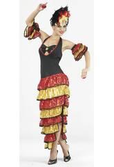 Déguisement danseuse de rumba femme taille XL