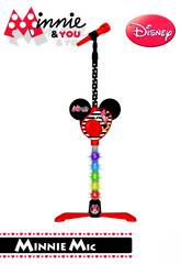 Minnie And You Microfono Pie con Amplificador Reig 5253