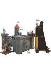 Mittelalterliche Burg 34x34x35cm