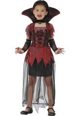 Déguisement Vampiresse Gothique Fille Taille S