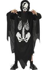 Disfraz Demonio Esqueleto Niño Talla S