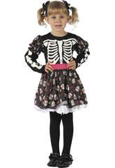 Déguisement Squelette Bébé Taille S