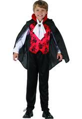 Disfraz Niños L Vampiro Rojo
