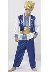 Costume da Sultano Blu Uomo XL
