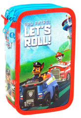 Paw Patrol Estuche 3 Pisos Glitter