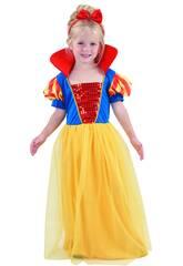 Disfraz Princesa del Bosque de Bebé Talla M