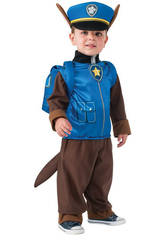 Costume bimbo Paw patrol Chase T-S