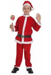 Disfarce Pai Natal Menino Tamanho L Llopis 8267 - 5