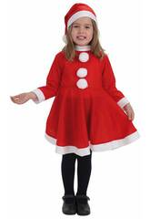 Costume Bambina Babbo Natale S Llopis 8268-1