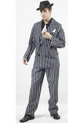 Kostüm Gangster Mann Größe XL