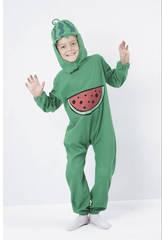 Déguisement de melon d´eau pour garçon taille L